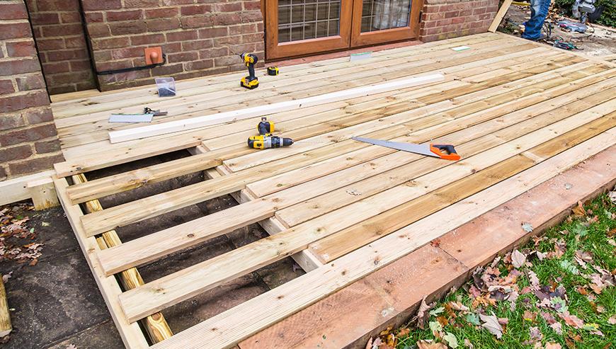 Construction de patio - Les Rénovations Nicolas Rose